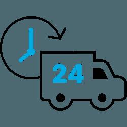 Bezorging verpakkingsmateriaal